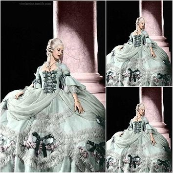 New! Customer-made Victorian Rococo Southern Belle Marie Antoinette Dress