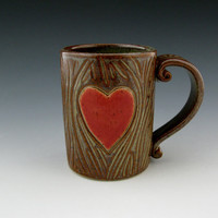 Enchanting Pottery Mug Enchanted Memories by TwistedRiverClay