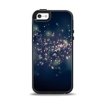 The Dark & Glowing Sparks Apple iPhone 5-5s Otterbox Symmetry Case Skin Set