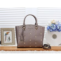 MK Women Shopping Bag Leather Tote Handbag Shoulder Bag