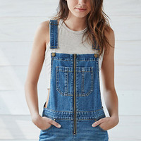 Bullhead Denim Co. Star Spangled Zip Front Shortalls at PacSun.com