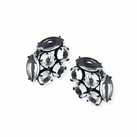 Lulu Frost Diamanda Crystal Stud Earrings