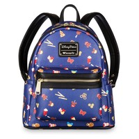 Disney Parks Food Icons Mini Backpack by Loungefly New with Tags