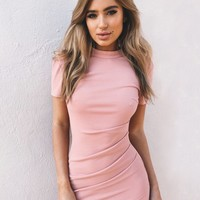 Buy Our Fiona Dress in Blush Online Today! - Tiger Mist