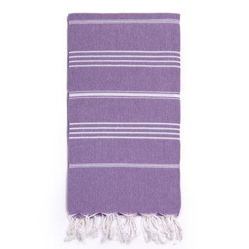 Turkish-T - Beach Towel | Lavender