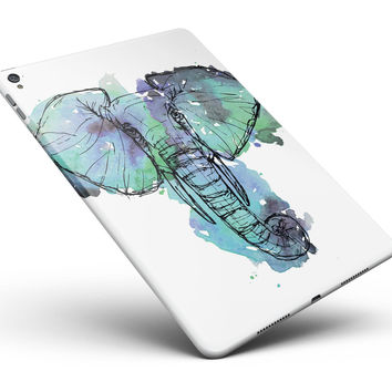 "African Sketch Elephant Full Body Skin for the iPad Pro (12.9"" or 9.7"" available)"