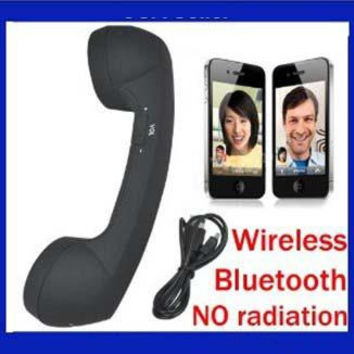 Free shipping new arrival wireless bluetooth retro handset for smartphones