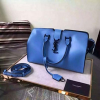 YSL SAINT LAURENT A232098 BLUE BAG HANDBAG