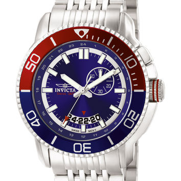 Invicta Men's Pro Diver Swiss GMT Stainless Steel 6294