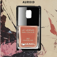 Chanel Nail Le Vernis Orange Fizz Samsung Galaxy Note 5 Edge Case Auroid