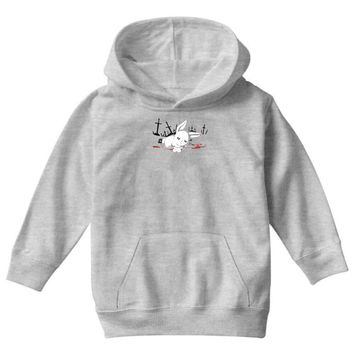 harmless little bunny Youth Hoodie