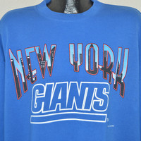 90s New York Giants Crewneck Sweatshirt XXL