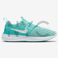 Artisan Teal Nike Juvenate Women's Swarovski Crystal Accent Bling Blinged Out