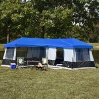 10 - 14 Person Best Camping Hiking Outdoor Family Easy Setup Instant Cabin Tent