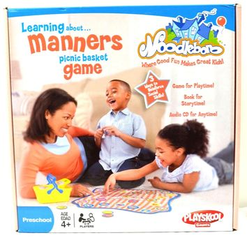 Playskool Noodleboro Learning About Manners Picnic Basket Game