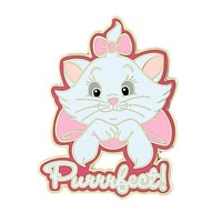 Disney Parks Marie Purrrfect Pin New with Card