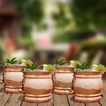 Stout Moscow Mule Mugs, Set of 4