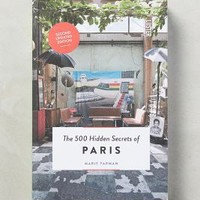 500 Hidden Secrets of Paris by Anthropologie in Wedgewood Blue Size: One Size House & Home