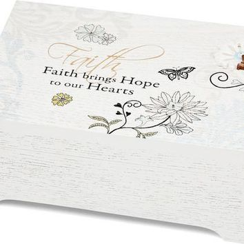Faith brings Hope to our Hearts Music Box