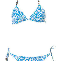 Aztec Triangle Bikini - New In This Week  - New In