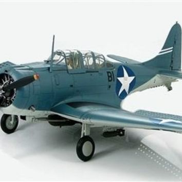 Merit Douglas SBD-3 Dauntless USN VB-6, Black B1, factory built model toy 1/18