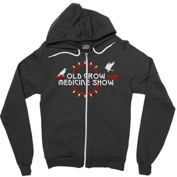old crow medicine show tour Zipper Hoodie