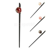 ONETOW Elegant Acrylic Sakura Decoration Hairpin Hair Stick Japanese Kanzashi Geisha Hair Accessory kimono Hair Dress