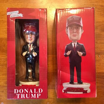 Limited Edition President Donald Trump Bobblehead Doll