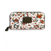 Hello Kitty Tattoo Pebble Wallet