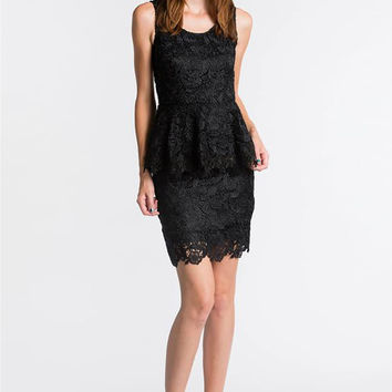 Blaque Label Black Lace Dress