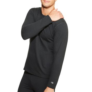 Duofold by Champion Varitherm Men's Long-Sleeve Thermal Shirt Style: KEW1-Black L