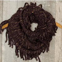 Happy Together Infinity Scarf - Gray
