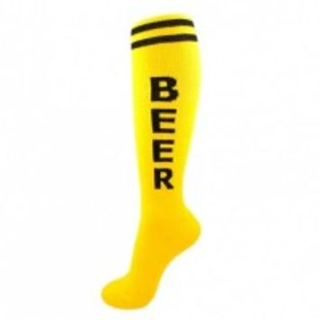 """Search results for: '""""Yellow Beer Unisex Athletic Socks""""' - Whimsical & Unique Gift Ideas for the Coolest Gift Givers"""