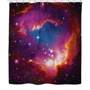 ROSC Cosmic Forces Shower Curtain