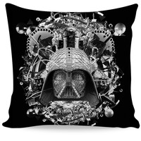 Star Wars B&W Couch Pillow