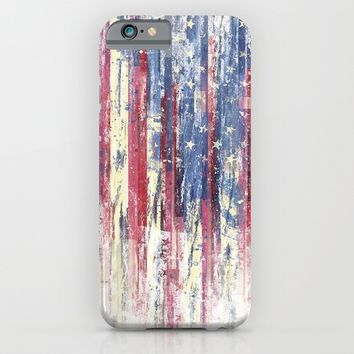 Amerikka Distress iPhone & iPod Case by HappyMelvin