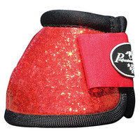 Saddles Tack Horse Supplies - ChickSaddlery.com Professionals Choice Secure Fit Overreach Boots- Glitter Pattern
