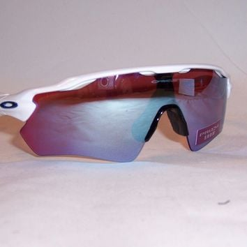 New Oakley Sunglasses RADAR EV PATH OO9208-47 WHITE/PRIZM SAPPHIRE SNOW 9208