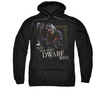 Lord Of The Rings Movie The Best Dwarf Licensed Adult Pullover Hoodie S-3XL