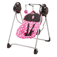 Minnie Dot Portable Travel Baby Musical Swing
