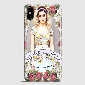 Marina And The Diamond  I Hate Everything iPhone X Case | casescraft