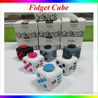 Fidget cube camouflage fidget spinner the world's first American decompression anxiety Toys DHL shipping 2017 New