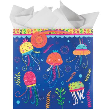 The Gift Wrap Company Jolly Jellies Large Square Bag