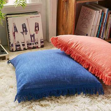 Plum & Bow Brooklyn Oversized Fringe Pillow