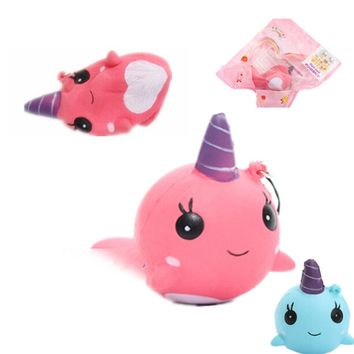 Squishy Stress Narwhal