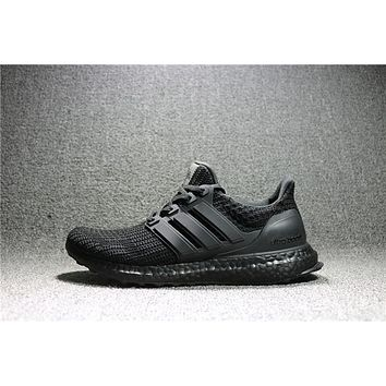 Adidas Yeezy Ultra Boost Black Men/Women Sport shoes