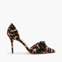 J.Crew Womens Collection Elsie Sequin Fabric D'orsay Pumps