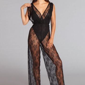 BW1754BK Roxanne Jumpsuit - Be Wicked