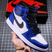 Trendsetter Air Jordan 1 Women Men Fashion Casual High-Top Old Skool Shoes