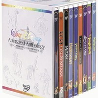Walt Disney Animated Anthology - The Classic DVD Collector's Set (Pinocchio/101 Dalmatians/Mulan/Hercules/Peter Pan/The Lion King 2: Simba's Pride/Lady & The Tramp/The Jungle Book/The Little Mermaid)